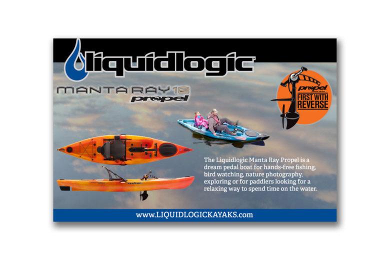 Liquidlogic Trade Show ad