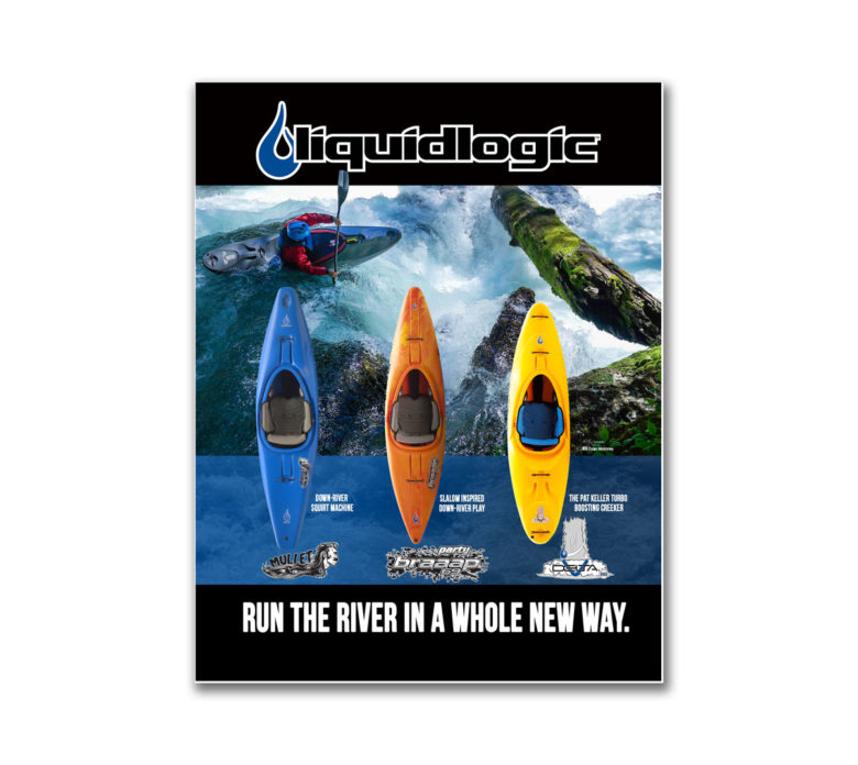 Liquidlogic River ad